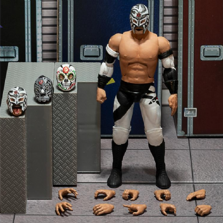 Super7 New Japan Pro-Wrestling (NJPW) Ultimates Bushi Action Figure